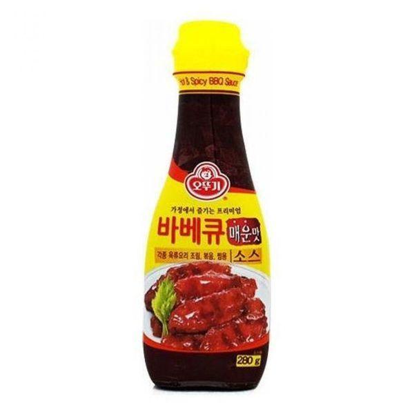 (제이큐) 바베큐 조림 매운맛 육류요리 소스 280g 볶음 찜용 상품이미지