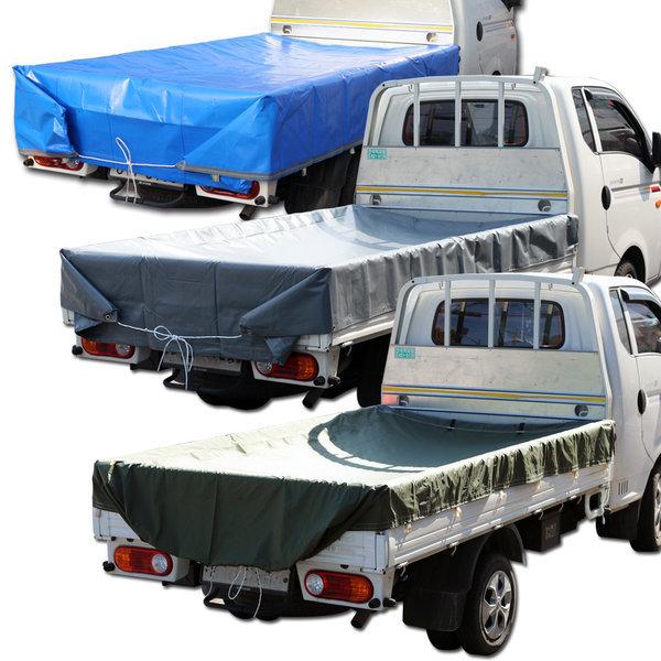 갑바 방수포 차량용 덮개 480g 1톤 차호로 2.7m x 3.6m 상품이미지