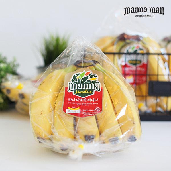 만나몰 만나 바나나 3송이 (3.6kg / 멕시코산) 상품이미지