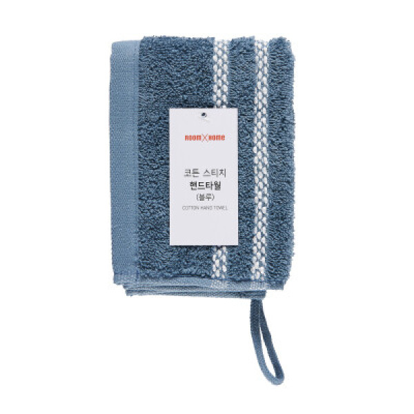 룸바이홈)코튼핸드타월(블루)1매 상품이미지