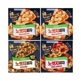 노엣지꽉찬토핑피자 4판(불고기1+치즈2+콤비네이션1)