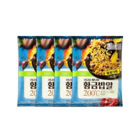 황금밥알 포크 스크램블 볶음밥 2인 420g 4봉(8인분)