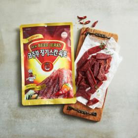 코주부 징기스칸 육포 매운맛 140G