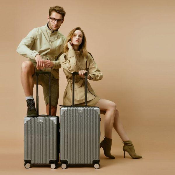 트래커 메이트(MATE) 여행가방 6종세트(기내용+화물용+커버+백팩+파우치 2종) 상품이미지
