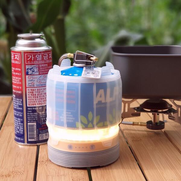리뷰테인 LED 캠핑랜턴 부탄가스 이소가스 워머 상품이미지