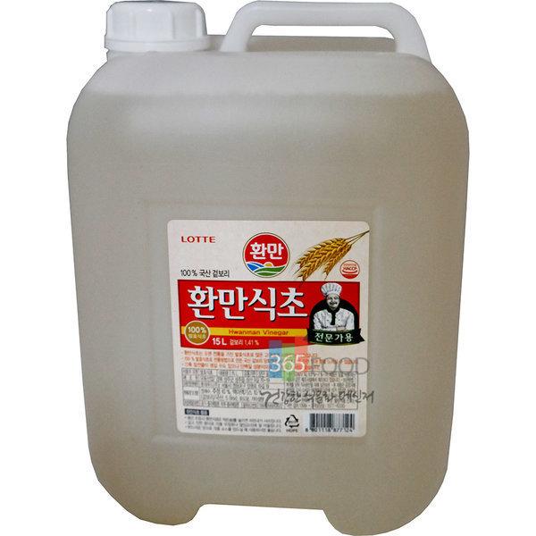 롯데푸드 환만식초 15L 상품이미지