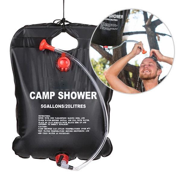 캠프 샤워 20L 캠핑 샤워기 샤워백 야외 간이 물통 상품이미지