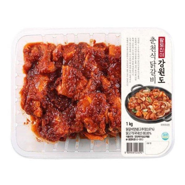 팔도진미 강원도춘천식닭갈비 1kg 상품이미지