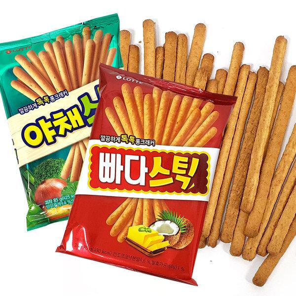 빠다스틱(5봉) + 야채스틱(5봉) 빠다코코낫 상품이미지