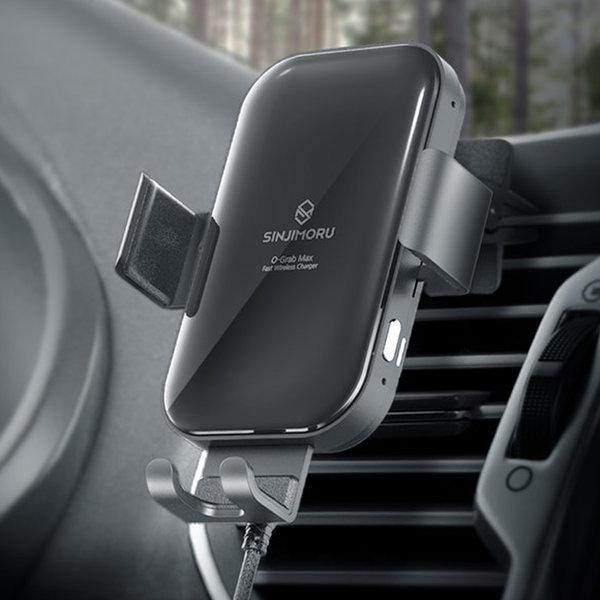 오그랩 맥스 자동차량용핸드폰 고속무선충전기 거치대 상품이미지