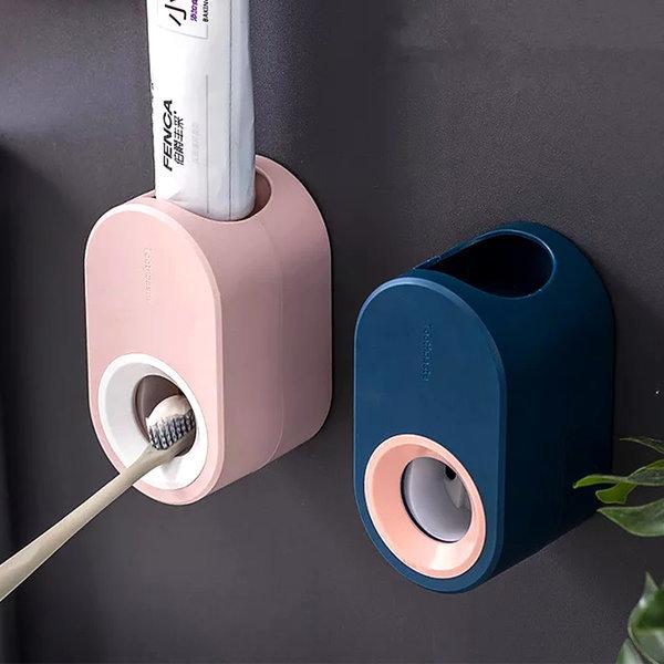 자동 치약 디스펜서 원터치 자동치약짜개 욕실용품 상품이미지