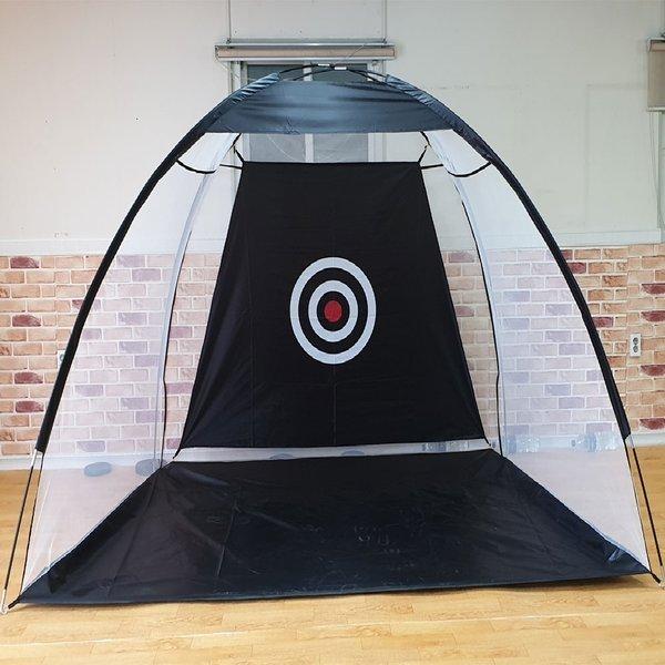 골프스윙연습기 어프로치망 텐트형골프네트 가로3미터 상품이미지