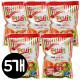 무설탕 과일맛 캔디 92g x 5봉/알사탕/담라/투시팝