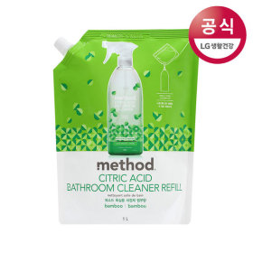 메소드 구연산 욕실용 세정제 리필 1L 3개