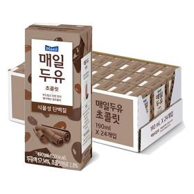 매일두유 초콜릿 190mL 24팩 무배