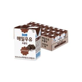 매일우유 초콜릿 멸균 200ml 24팩 무배