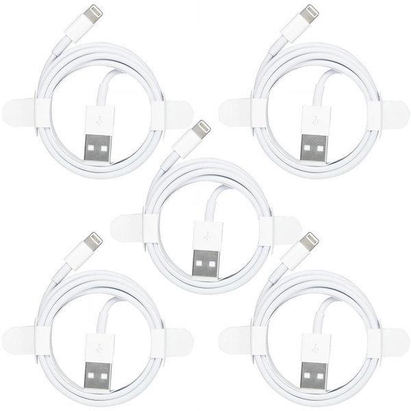 이츠라이프 아이폰 8핀 고속충전케이블 1M 화이트 5개 상품이미지