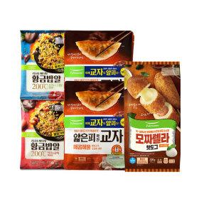 풀무원 집콕세트(볶음밥4인분+핫도그5개+해물만두4봉)