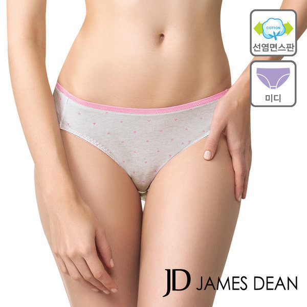 JHWWS063 제임스딘 면스판 러블리 여자 삼각 팬티 상품이미지