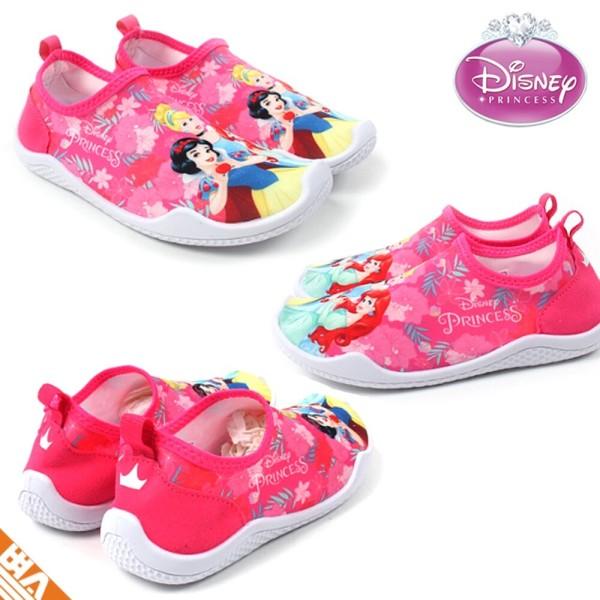 디즈니 여자 아이 아쿠아슈즈 3세-6세 워터파크 신발 상품이미지
