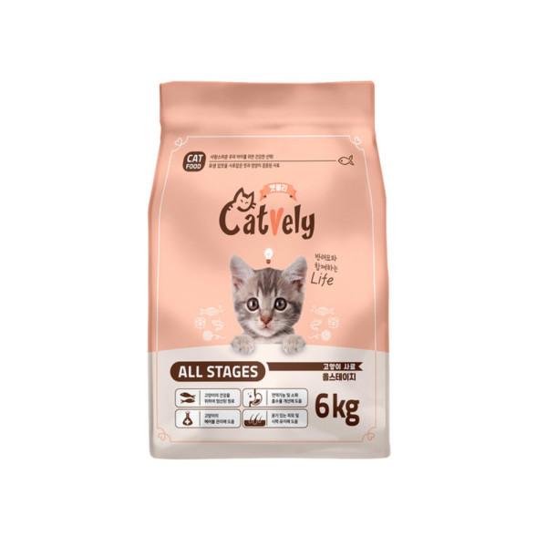 고양이사료 캣블리 6kg 박스포장 / 2687a2732a 상품이미지