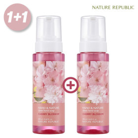 Hand n Nature Clean Hand Wash Cherry Blossom Total 500ml 1+1
