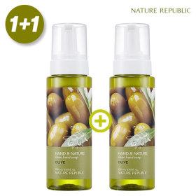 Hand n Nature Clean Hand Wash Olive Total 500ml 1+1