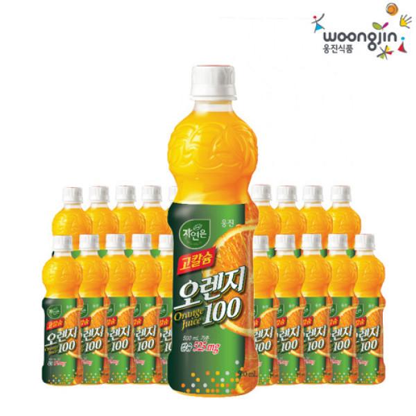 웅진식품 직영  고칼슘 오렌지 (500mlX20 페트병) 상품이미지