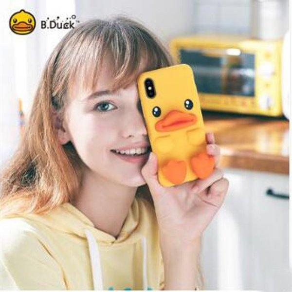 핫신상 실리카겔 아이폰X/Xs 귀여운 오리커플폰케이스 상품이미지