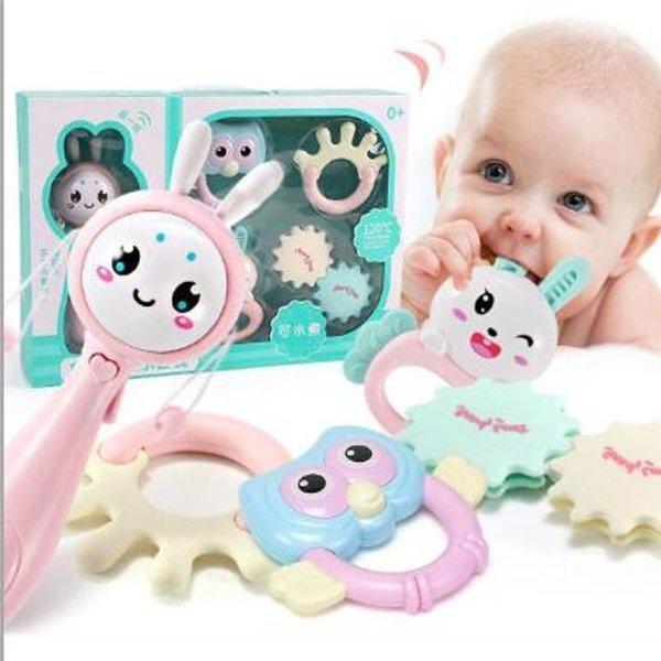 신생아 유아 아기 딸랑이세트 치발기 출산선물세트 상품이미지