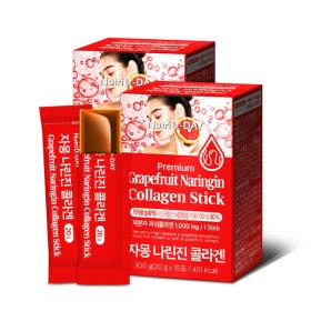 자몽 나린진 콜라겐 젤리스틱 15포 2박스 (총 30포)