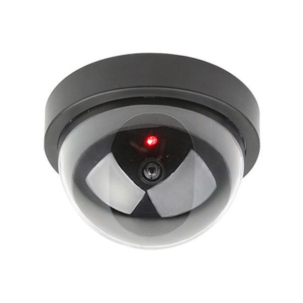 모형CCTV 가짜 감시카메라 IN11B 돔형 건전지+스티커 상품이미지