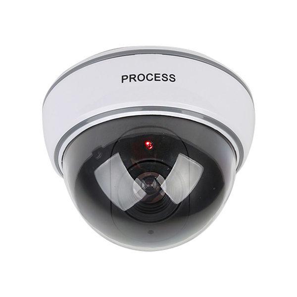 모형CCTV 감시카메라 IN11C 리얼 돔형 건전지+스티커 상품이미지