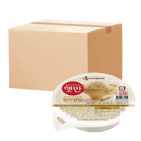 햇반 현미쌀밥 210g 24개