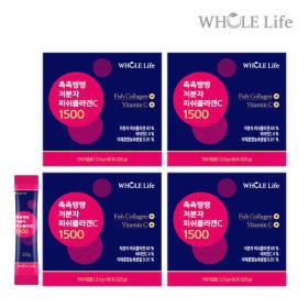 촉촉탱탱 저분자피쉬콜라겐C 360포 (4통)비타민C유산균