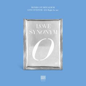 (ver.3) WONHO 1st Mini Album Part.1 Love Synonym - Right for me