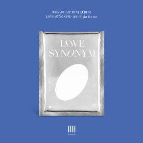 (ver.1) WONHO 1st Mini Album Part.1 Love Synonym - Right for me