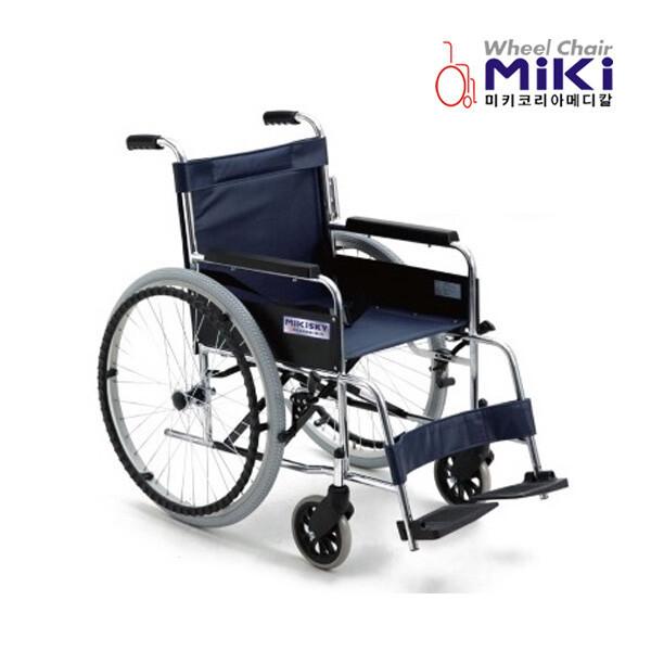 (현대Hmall) 미키코리아  스틸 휠체어 / SKY-1 상품이미지