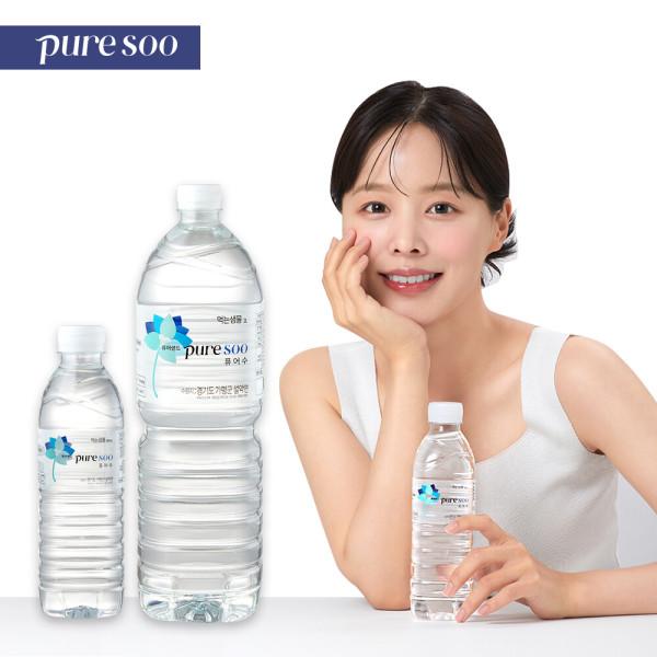 퓨어랜드 퓨어수 깨끗한물 안전한생수 2L X 36PET 상품이미지