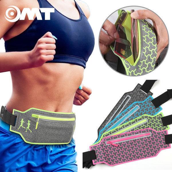 OMT 스포츠 힙색 가방 암밴드 OSA-33 패턴-핑크 상품이미지