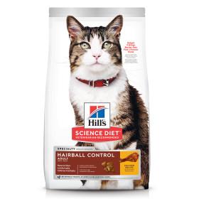 7156 힐스 고양이 어덜트 헤어볼 컨트롤 치킨 1.6kg