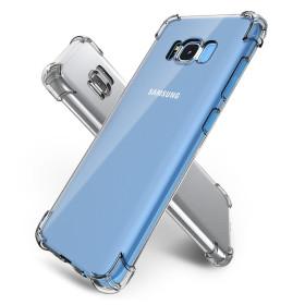 갤럭시 S8 핸드폰 투명 젤리 범퍼 케이스 1+1