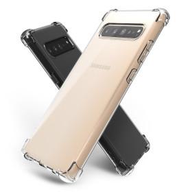 갤럭시 S10 5G 핸드폰 투명 젤리 범퍼 케이스 1+1
