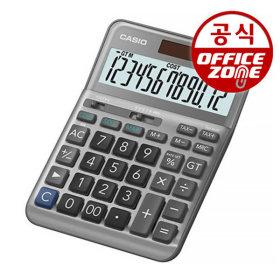 카시오 전자계산기 DF-120FM 그레이 이윤계산