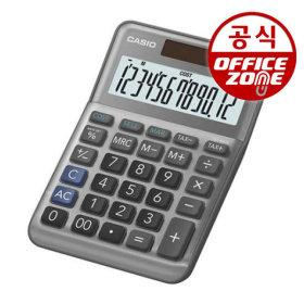 카시오 전자계산기 MS-120FM 그레이 사무용 탁상