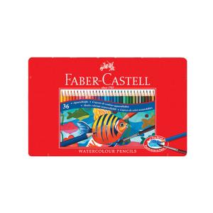 파버카스텔 틴 수채 색연필 36색 문구 미술용품