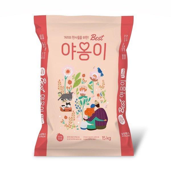 서울사료 베스트 야옹이15kg 길고양이전용 대용량 상품이미지