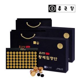 황제침향단 60환 2박스 고급 쇼핑백 증정 선물세트