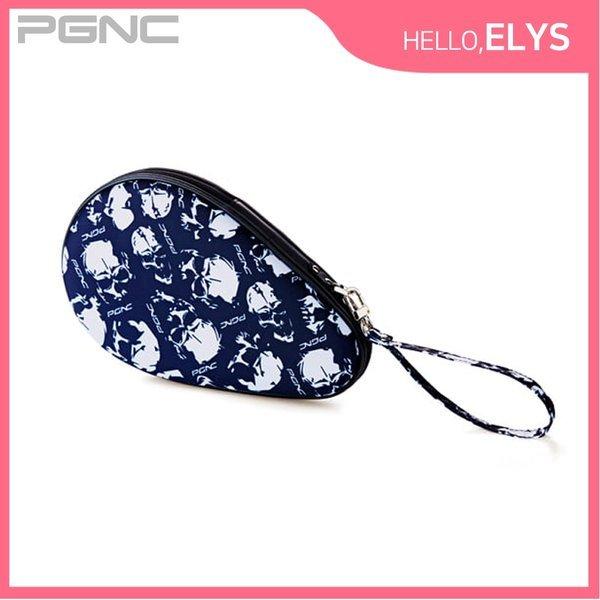 휴대용 탁구채 케이스 네이비 라켓 하드 보관함 훈련 상품이미지