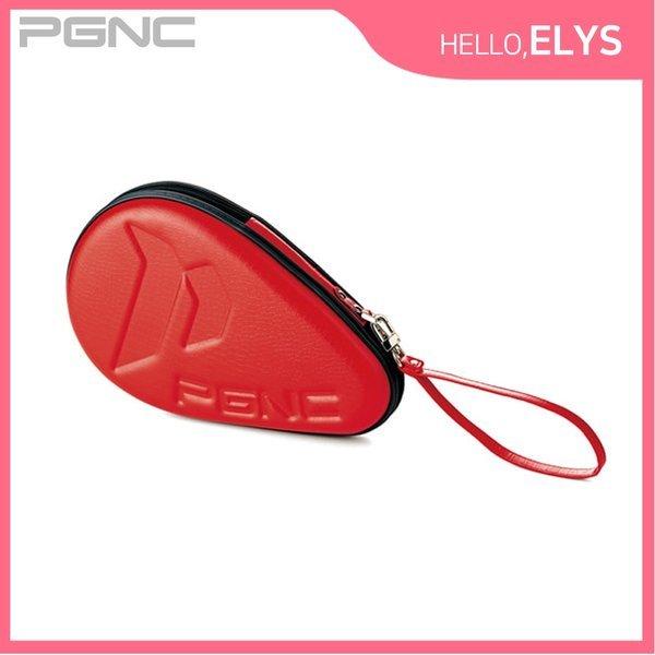 휴대용 탁구채 케이스 레드 라켓 하드 보관함 훈련 상품이미지